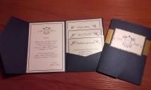 solidūs kvietimai su papild.kortelemis